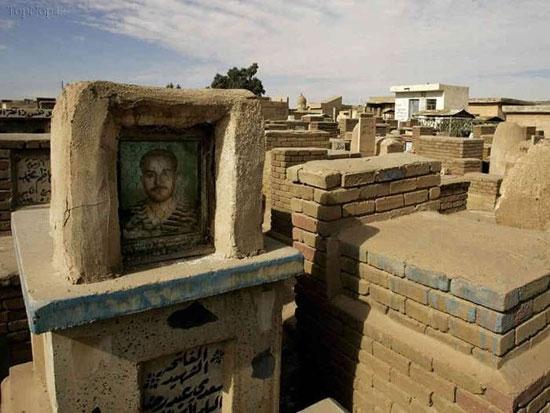 قبرستان وادی السلام شهر نجف + تصاویر