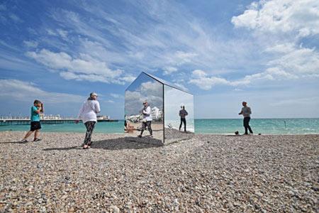 کلبه ساحلی گیج کننده و شگفت انگیز + عکس