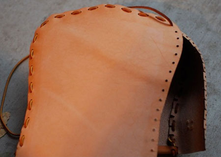 آموزش مرحله ای دوخت کیف چرمی رودوشی