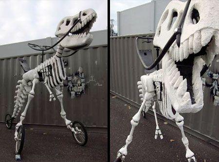 عکس های دیدنی از طرح دایناسوری یک 3 چرخه