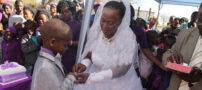 پسر بچه 9 ساله برای دومین بار ازدواج کرد + تصاویر