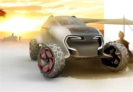 ساخت خودروهای جدید با مواد قابل تجزیه + عکس