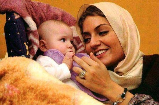 عکس جدید و جذاب از مهناز افشار