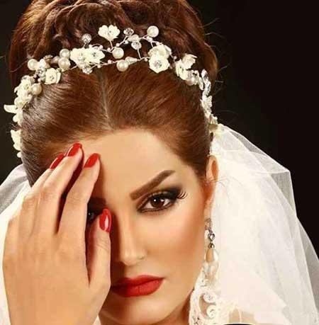 مدل های زیبا و جذاب آرایش عروس 2015