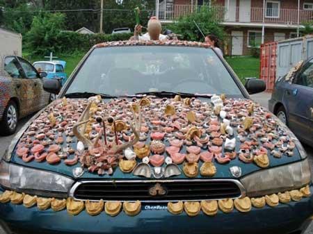 خودرویی جالب دندان پزشک (+عکس)
