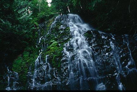 آبشار رامونا، اورگِن در ایالات متحده امریکا