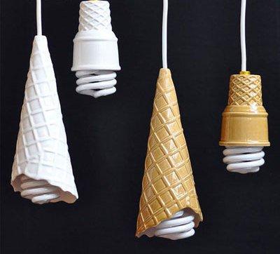 چراغ های متفاوت و خلاقانه برای دکوراسیون خانه