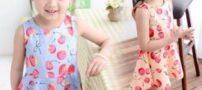مدل سارافون های زیبا و جدید بچه گانه 2015