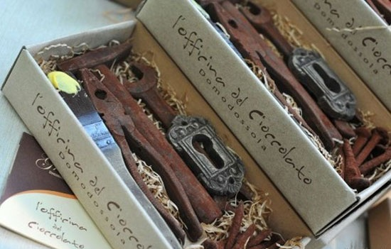 شکلات های جالب به شکل ابزار آلات در ایتالیا (عکس)