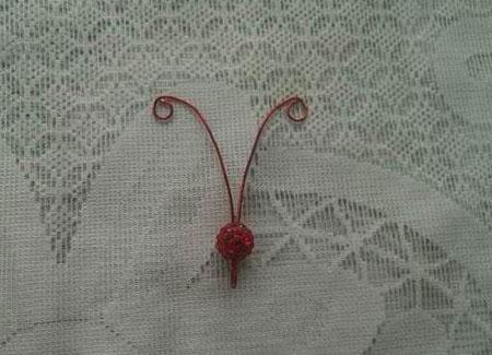 مراحل ساخت یک پروانه جورابی زیبا