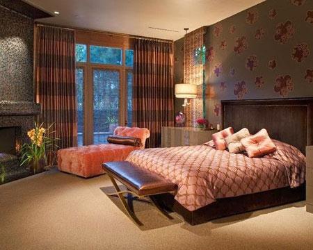 مدل دکوراسیون زیبا و متفاوت اتاق سلطنتی