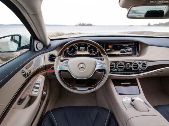 معرفی خودروی بی نظیر مرسدس S500 + تصاویر