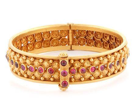 جدیدترین مدل دستبند طلا و جواهر زنانه (20)