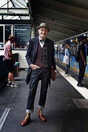 برگزیدن خوش تیپ ترین پیرمرد دنیا (عکس)