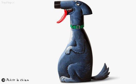 نقاشی شخصیت های مختلف روی وسایل روز مره (عکس)
