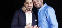 عکس های احسان خواجه امیری با بازیگران