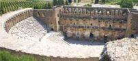 حمام رومی ها در آنتالیا + تصاویر