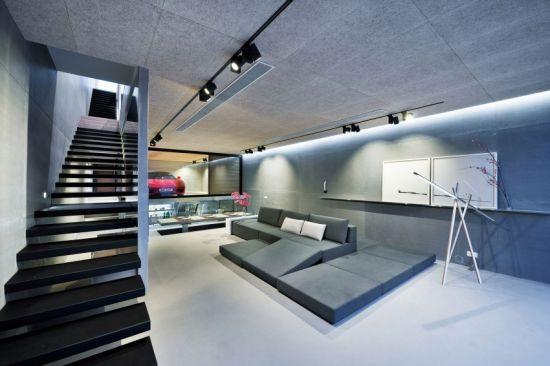 طراحی یک خانه فوق لوکس توسط طراحان هنگ کنگ