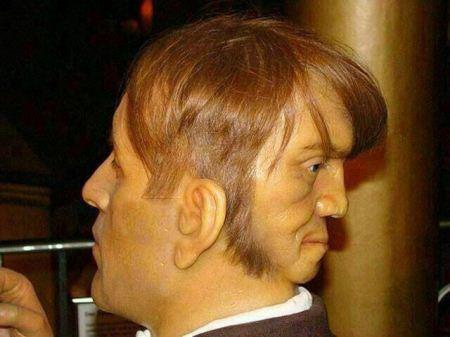 مردی که پشت سرش هم صورت داشت + عکس