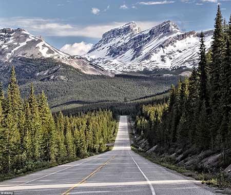 عکس های دیدنی از جاده های رویایی و زیبا