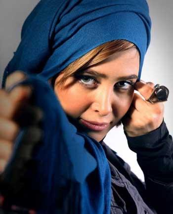 الناز حبیبی بازیگر سریال دودکش (عکس)