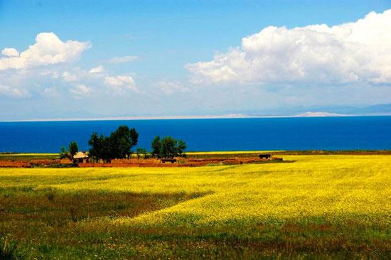 دریاچه های بی نظیر و زیبا در کشور چین