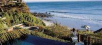 تصاویری از استخر خانه های ساحلی ستاره ها