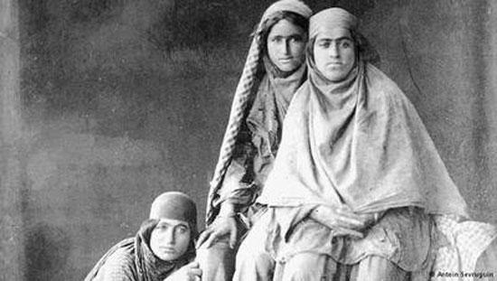 عکس از تیپ دختران ایرانی در 110 سال پیش