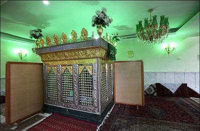 آشنایی با بقعه متبرکه امامزاده مطیب + تصاویر