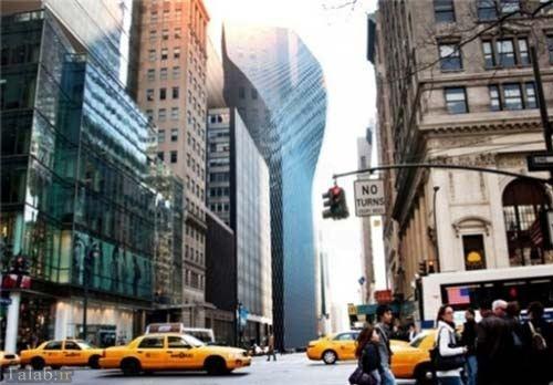 طراحی برجی با 30 درجه خمیدگی در نیویورک (+عکس)