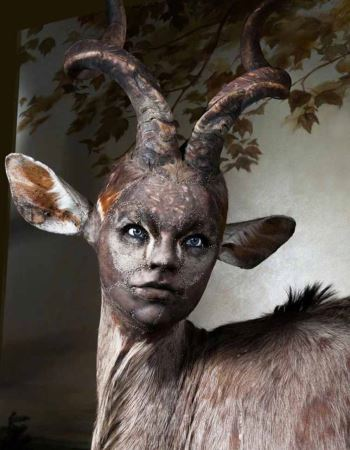 عکس های دیدنی از ترکیب چهره انسان و حیوانات