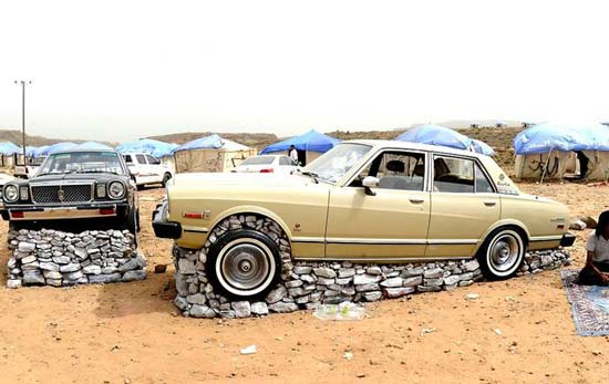 تصاویری از سرگرمی های جالب عرب های مایه دار