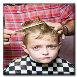 آموزش مدل دادن موی پسران در خانه