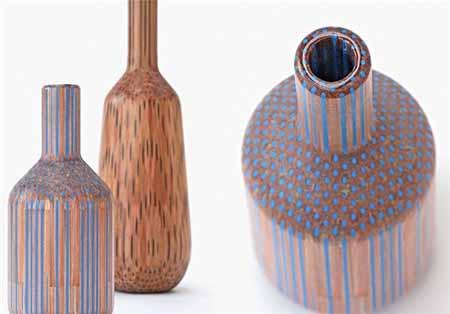 ایده ای جالب برای گلدان های مدادی