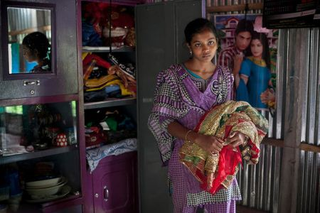 مجبور کردن دختران زیر 18 سال به ازدواج در بنگلادش + تصاویر