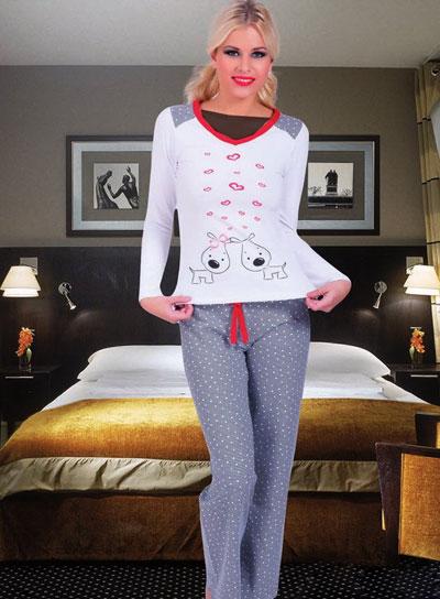 مدل های زیبا و شیک لباس خواب اسپرت دخترانه 99