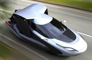 جدیدترین ماشین پرنده با قیمت 900 میلیون (عکس)