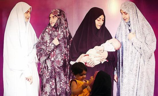 تصاویری از نمایشگاه حجاب در تهران