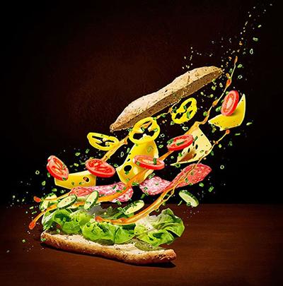 غذاهایی که پرواز می کنند!