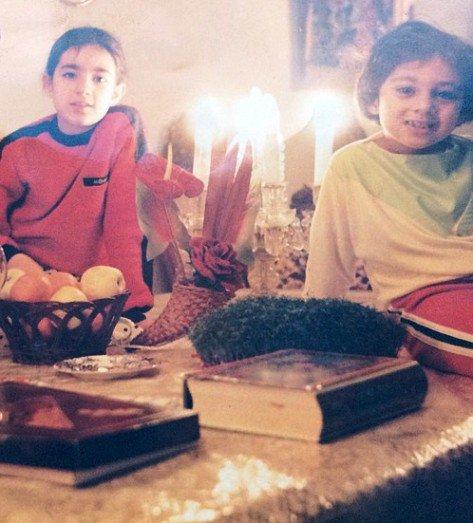 عکس های کودکی و نوجوانی یکتا ناصر