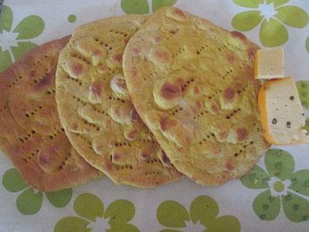 آموزش پخت نان تافتون در منزل