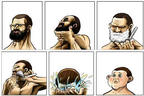 تصاویری طنز و خنده دار از سوژه های گوناگون