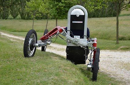 تصاویر جالب از خودروی عنکبوتی
