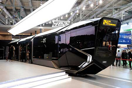 تراموا سیاه به زودی در سیستم حمل و نقل روسیه + عکس