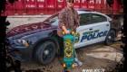 نخستین پلیس اسکیت سوار جهان + عکس