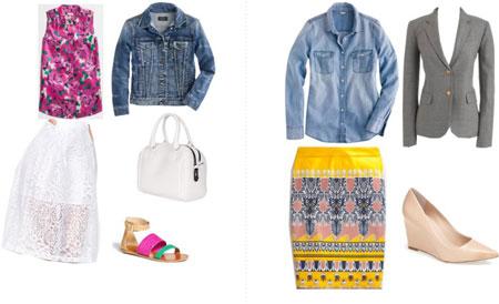 ست کیف، کفش و لباس زنانه ویژه تابستان 2015