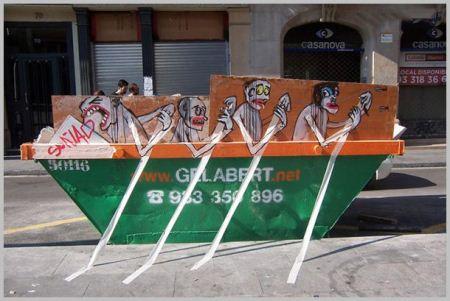 زباله هایی که به آثار هنری تبدیل شدند + تصاویر