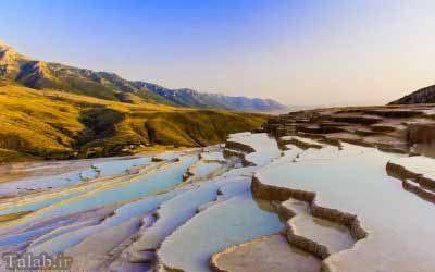 تصاویری از چشمه باداب سورت در استان مازندران