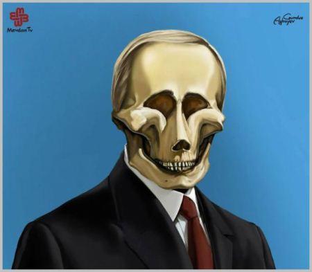 کاریکاتور خنده دار و طنز رهبران جهان (جدید)