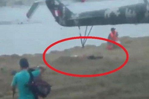 قطع شدن سر دختر پس از برخورد با پره های هلیکوپتر + عکس